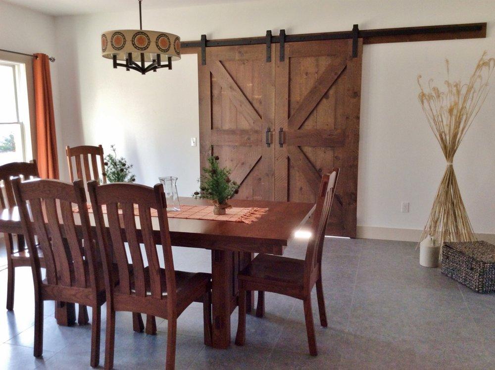 If Your Floor Plan Is Too Open Add Barn Doors