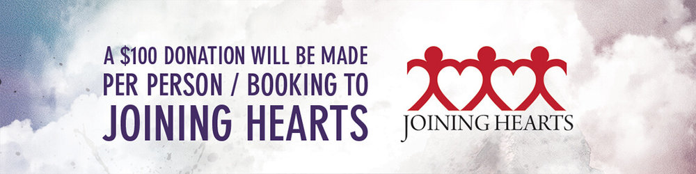 Joining Hearts Banner
