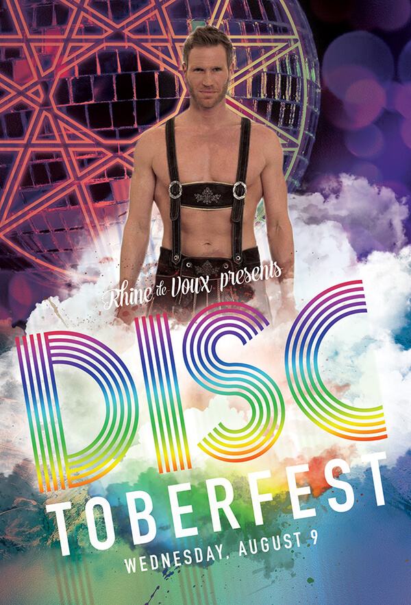 Disctoberfest Party Graphic