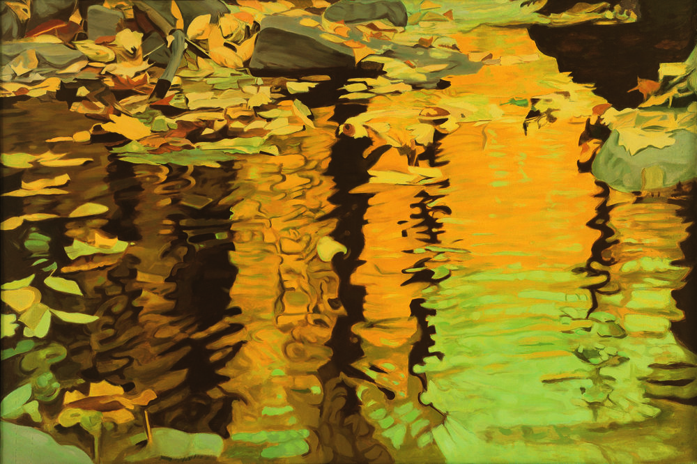 Yellow Reflections