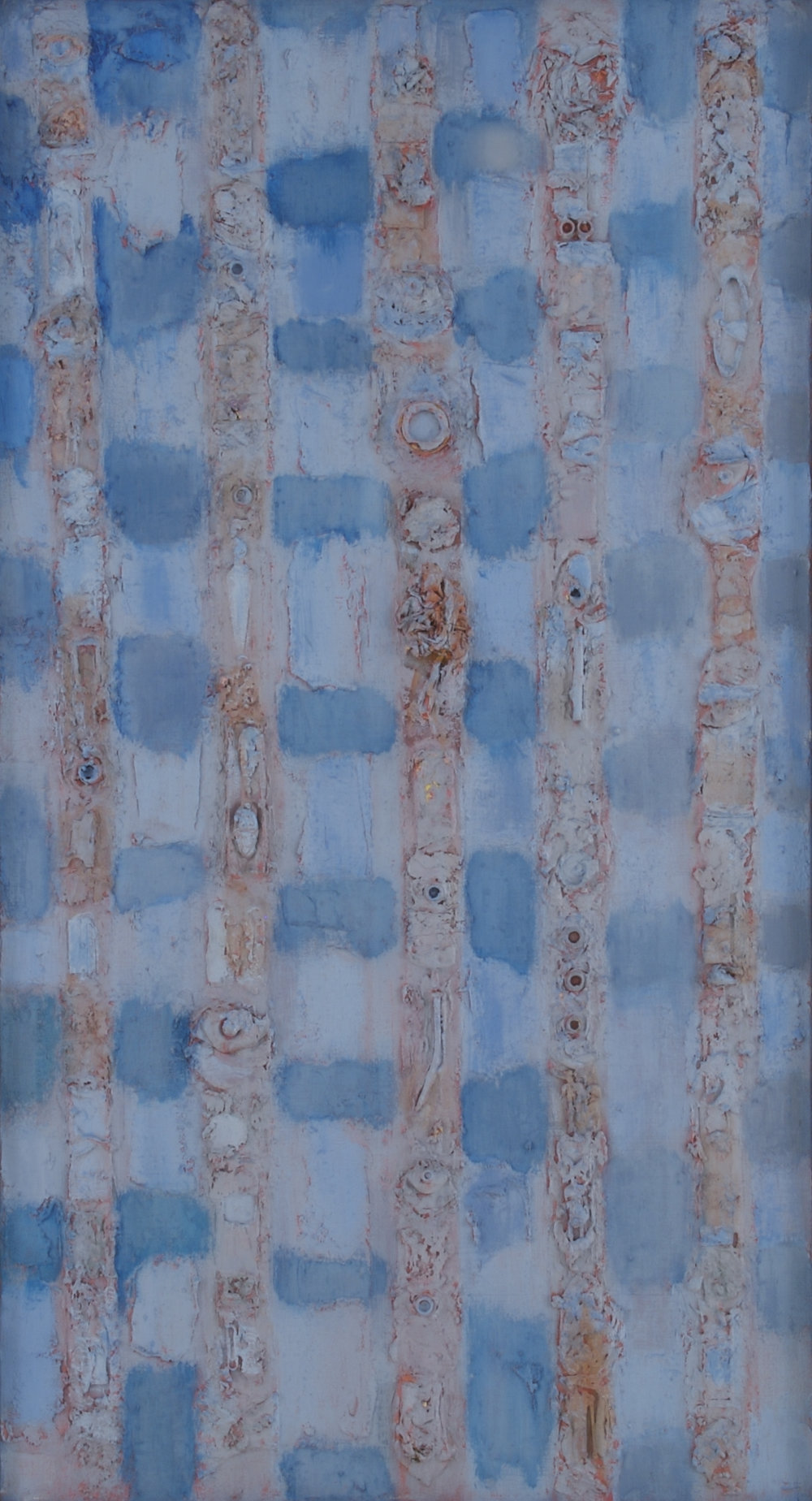 "Compassion Theme the Nail,  44"" x 24"", 1952"