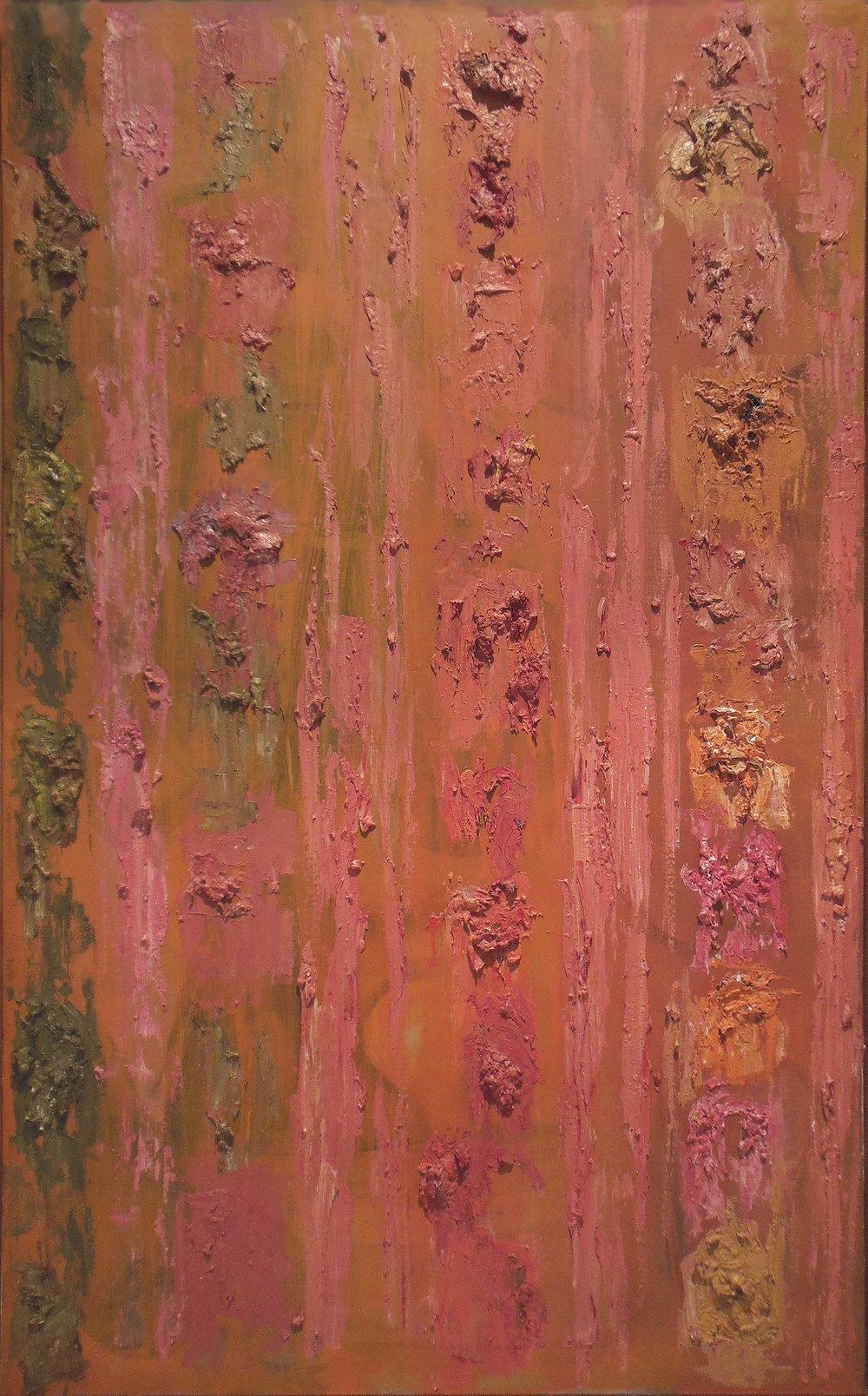 "Varied Theme  48"" x 30"", 1957"