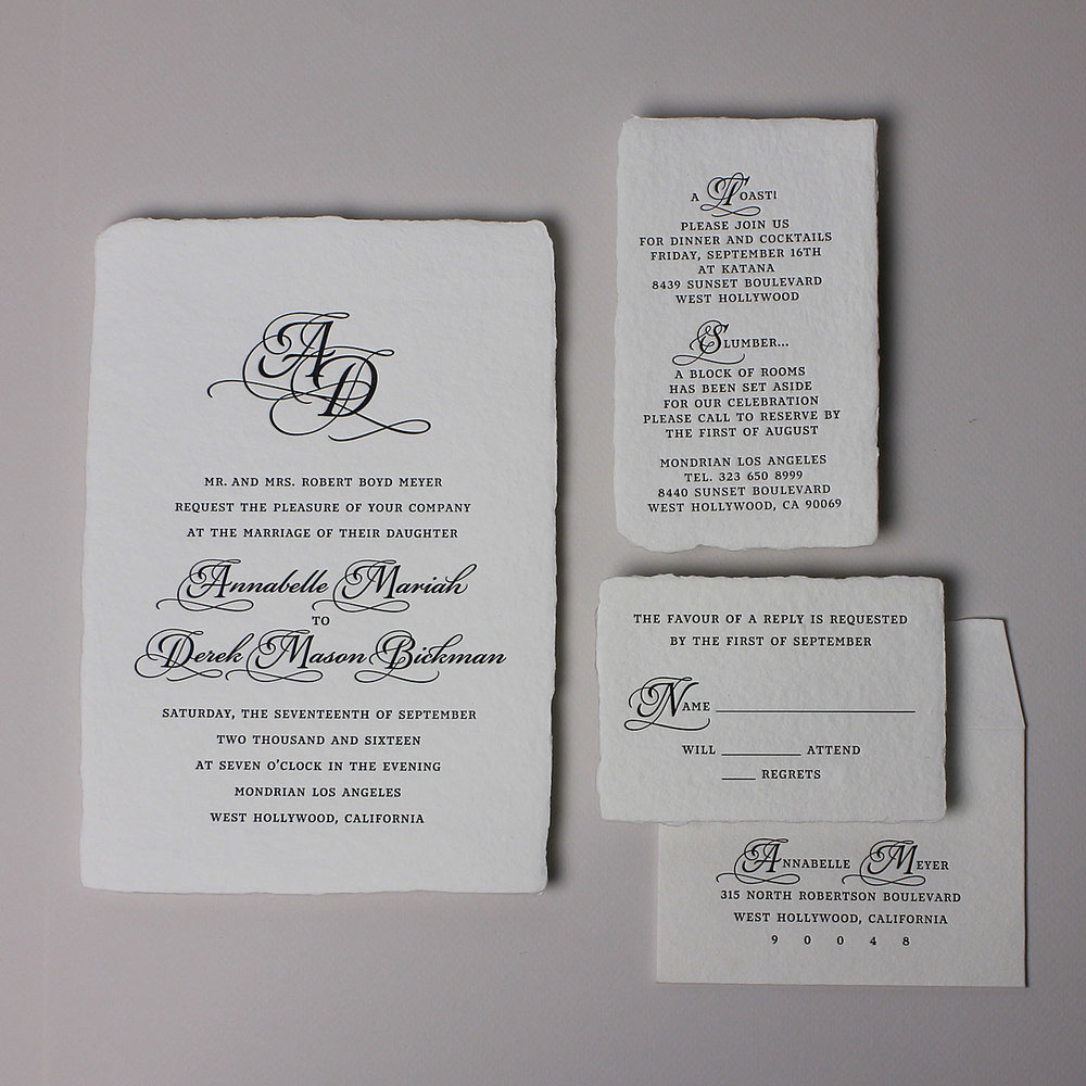 see our full Minuet Invitation Suite