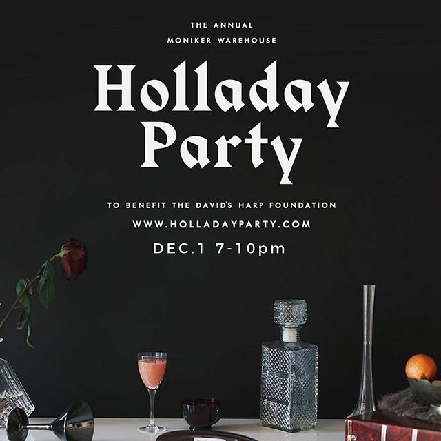 HollaDay Party to benefit #localdogooders @davidsharpfound ! Dec 1, 7-10PM at @monikergroup Warehouse in #eastvillagesd  Free craft beer, hipster holiday market, live music, cocktails, food trucks, live DJs, art installations, a photo booth, and a special surprise! $25 presale tix available at www.holladayparty.com, or $30 at the door.  100% proceeds benefit DHF and their work using the power of music to mentor at-risk and homeless teens.  Volunteers Needed! Email lebantley@gmail.com