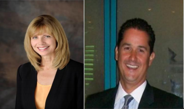 New Board Members Sheryl Dodds and Ricky Vescovacci -
