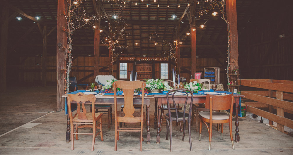 Wellstruck // Brand strategy and design for farm wedding venue Historic Penn Farm