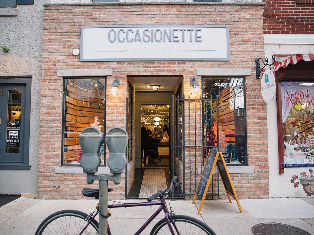 Occasionette storefront by Parikha Mehta Photography