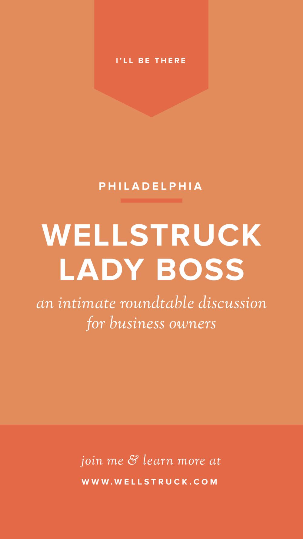 Wellstruck Lady Boss at Vault + Vine