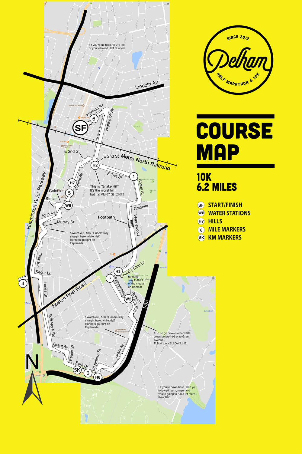 2017 PHM 10K Course Map