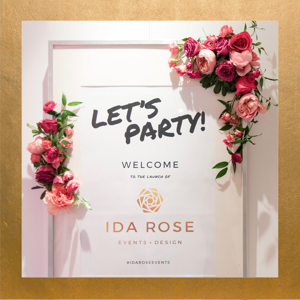 IDA ROSE Launch Party