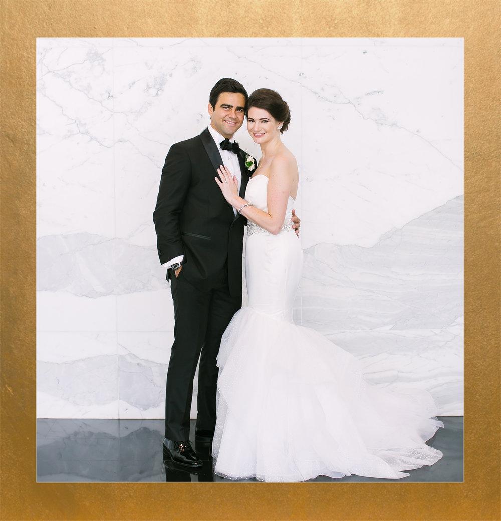 Glam + Marble Watergate Hotel Wedding