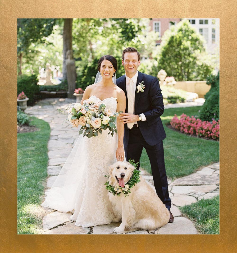 Pretty Pastel Meridian House Wedding