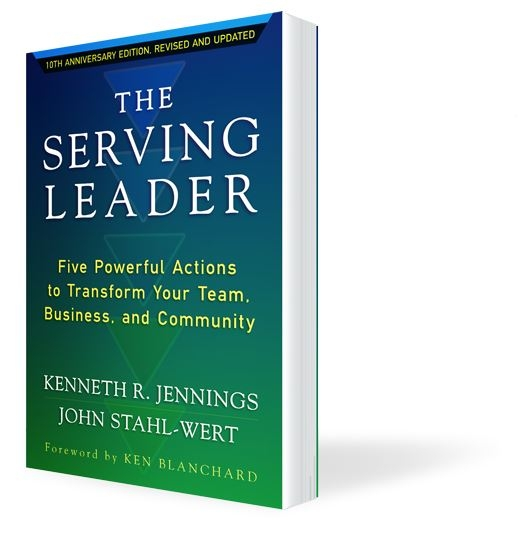 Putting Servant Leadership to Work Building a high-performance team in today's complex environment requires the leader to serve – to build hope, confidence, courage and commitment. In this new edition of the international bestseller, The Serving Leader, ThirdRiver founder Ken Jennings shows the power of leading by serving, first.