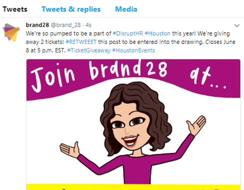 Like AND #retweet this post on Twitter. Don't forget to tag brand28!
