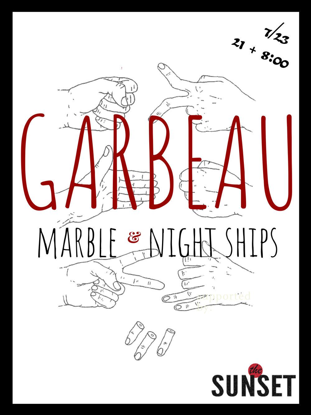 garbeau.album.release.thesunset.jpg
