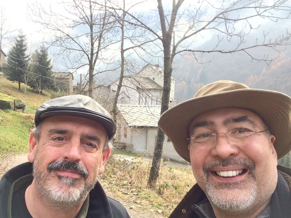 "iLi Co-founders Jeff Canada and Steve Connor at the birthplace of ""modern disciple making""; ""Collegio dei Barbi"" - Angrogna, Italy"