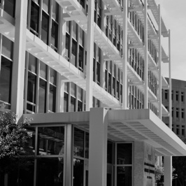 Photo 5: Lee County Administration Building. Architect Gundersen & Wilson. Photo by Joshua Colt Fisher