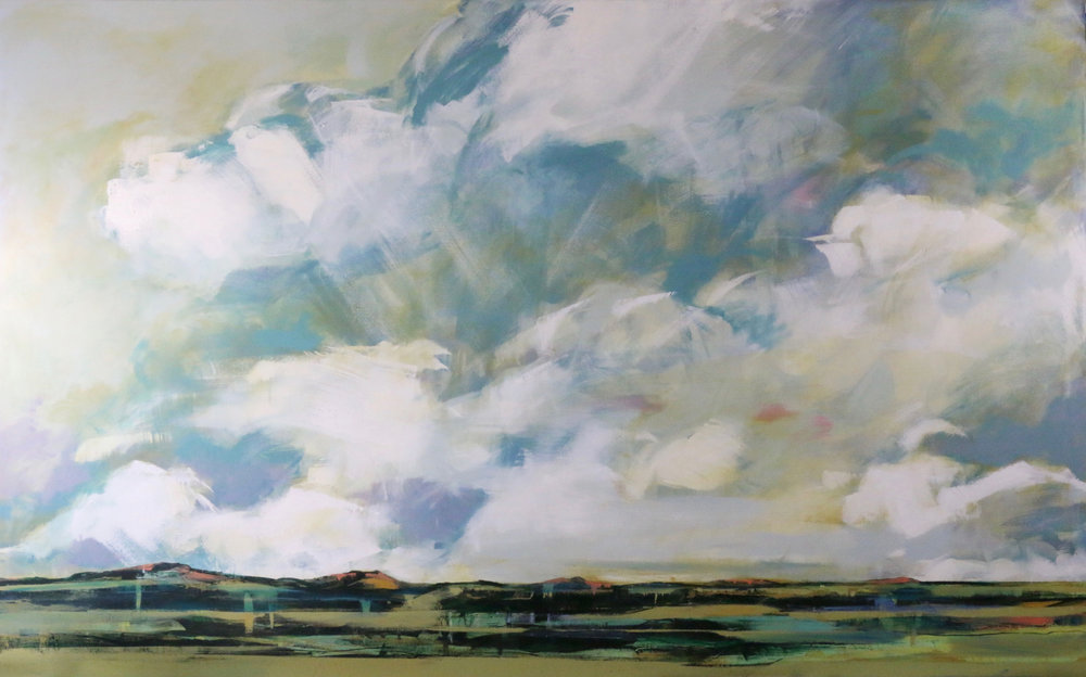 0177_I_16  | Turning Towards Calmness | 60x96 inches
