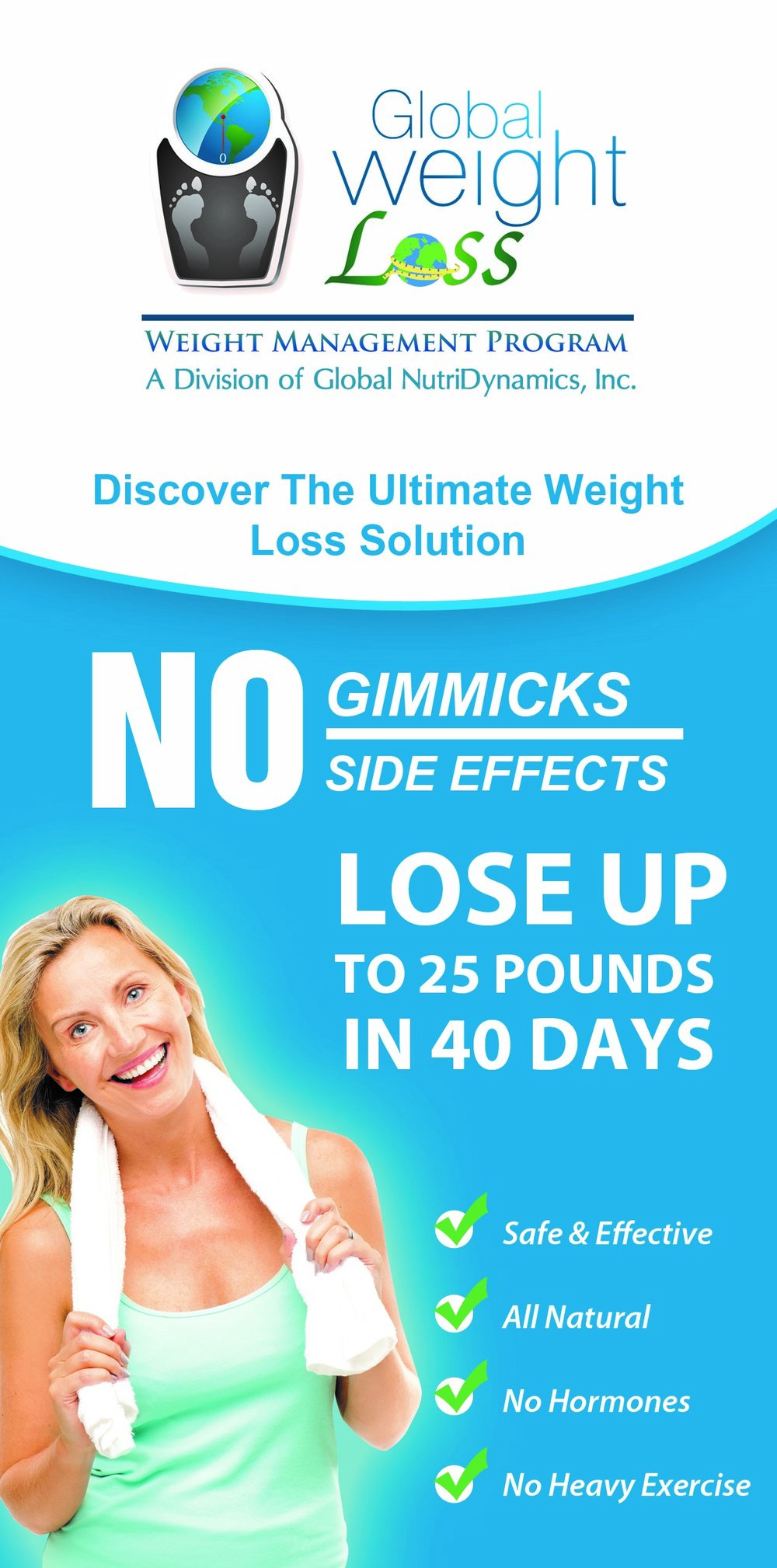 global weight loss solutions for living well
