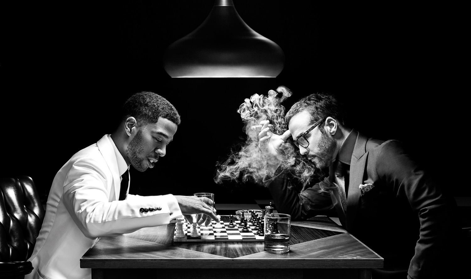 Jeremy Piven And Kid Cudi For Complex Magazine Young Baby Dane