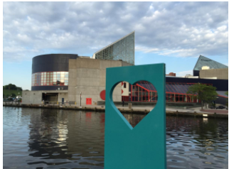 WYPR: Teens unveil latest effort at Inner Harbor