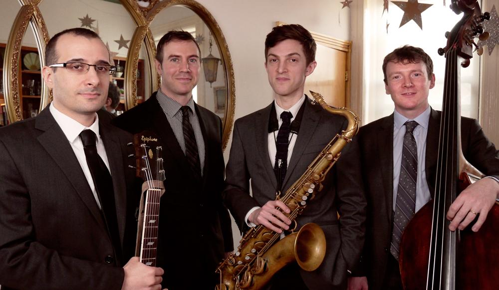 Greg Rugierro , Guitar •  Ben Cliness , Drums •  Sam Taylor,  Sax •  Aidan O'Donnell , Bass