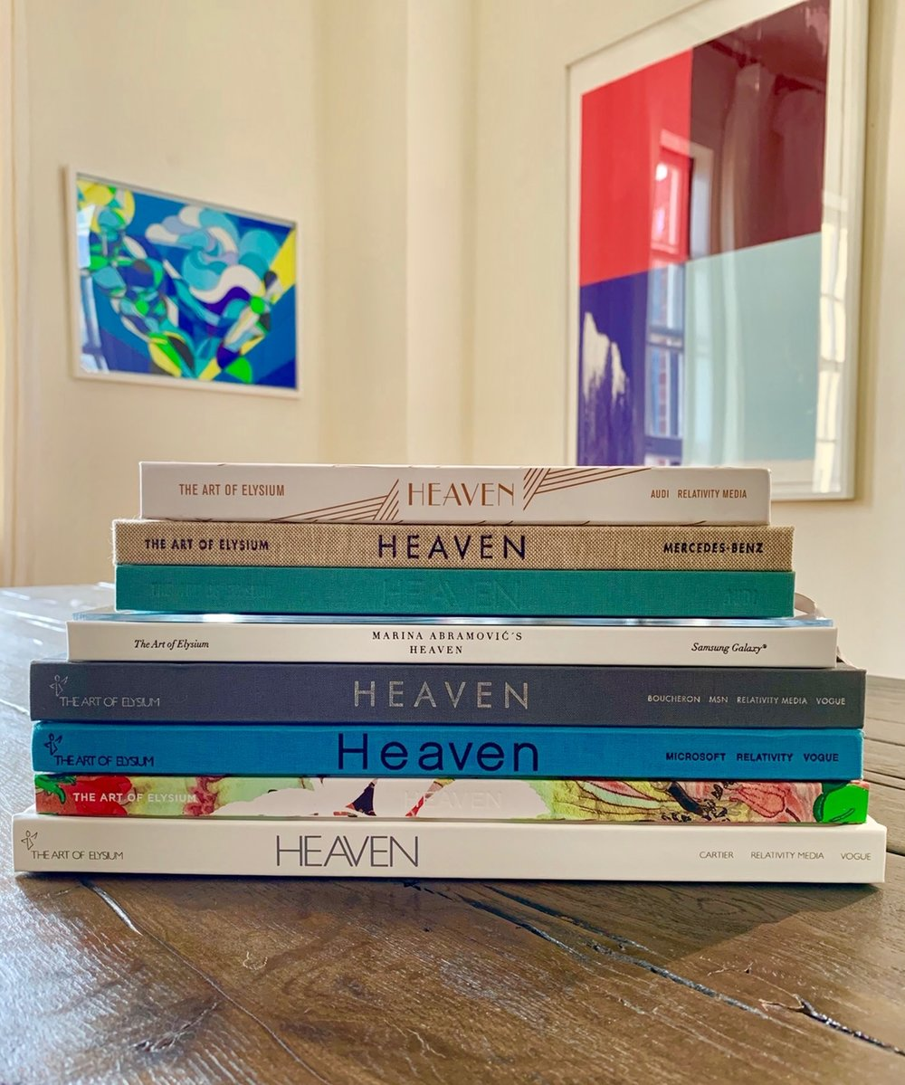 HEAVEN Coffee Table Books