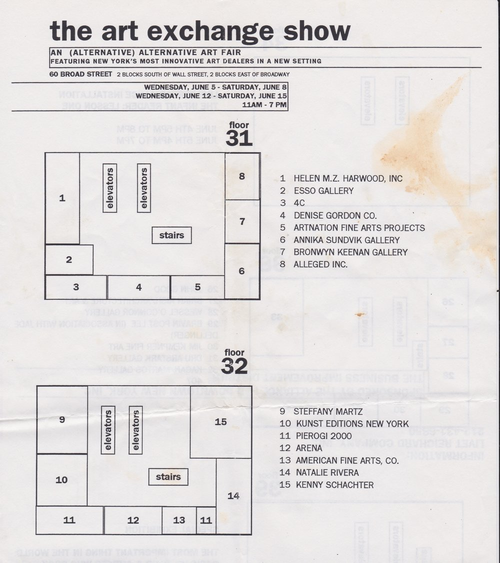 The Art Exchange Show 1996