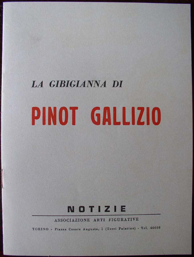 Pinot Gallizio -