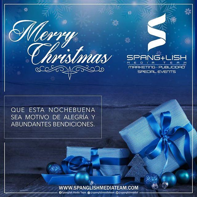 ¡Feliz Navidad a todos! / Merry Christmas to all! . . #SpanglishMediaTeam #SMT #Publicidad #Advertising #Cliente #Client #Florida #Orlando #Navidad #MerryChristmas