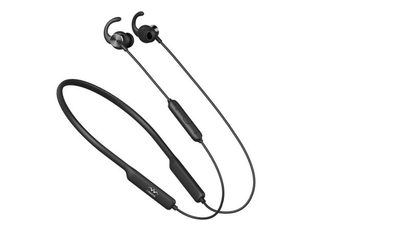 - 【Long battery life 】You get 8 hours of continuous music, or can relax with 300 hours of standby time when powered with a 5V external charger.【Strong Built-in Magnets】Built-in powerful magnets stick both wireless Bluetooth earbuds together around your neck for a more convenient wear when not in use and to spare you from dealing with tangled wires.