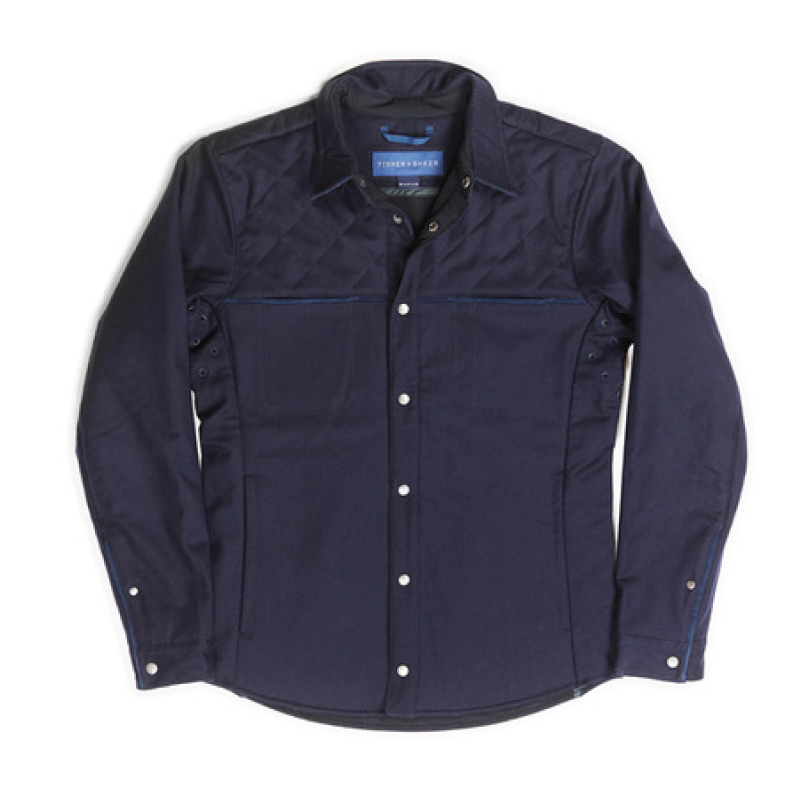 Fisher + Baker Navy CPO Jacket
