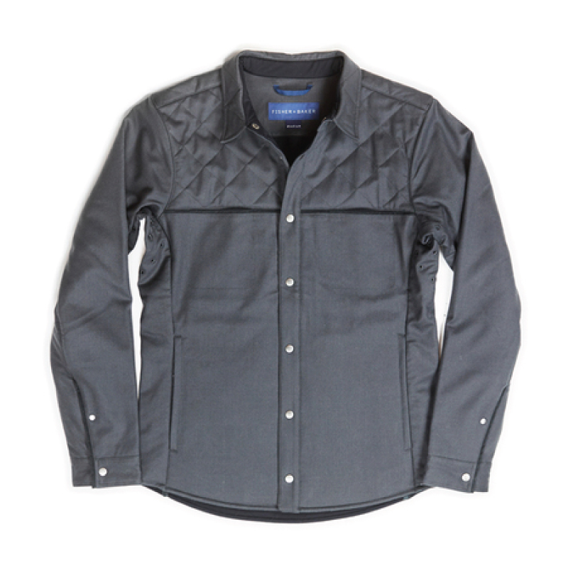 Fisher + Baker Gray CPO Jacket