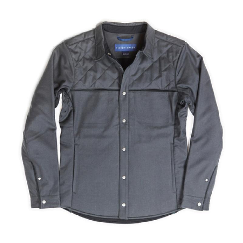 Fisher + Baker Gray CPO Jacket