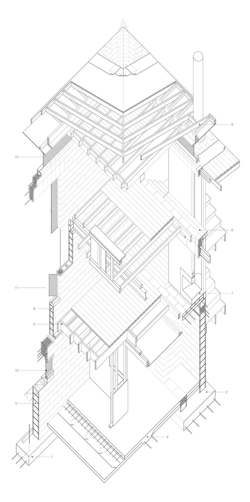 technical drawings alan chan Floor Concrete Slab Foundation 0001