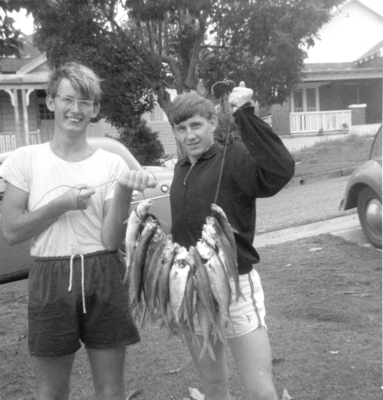 1966 - Fishing with Alan McGrath