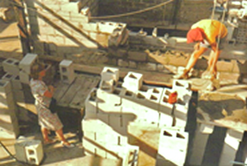 Block laying