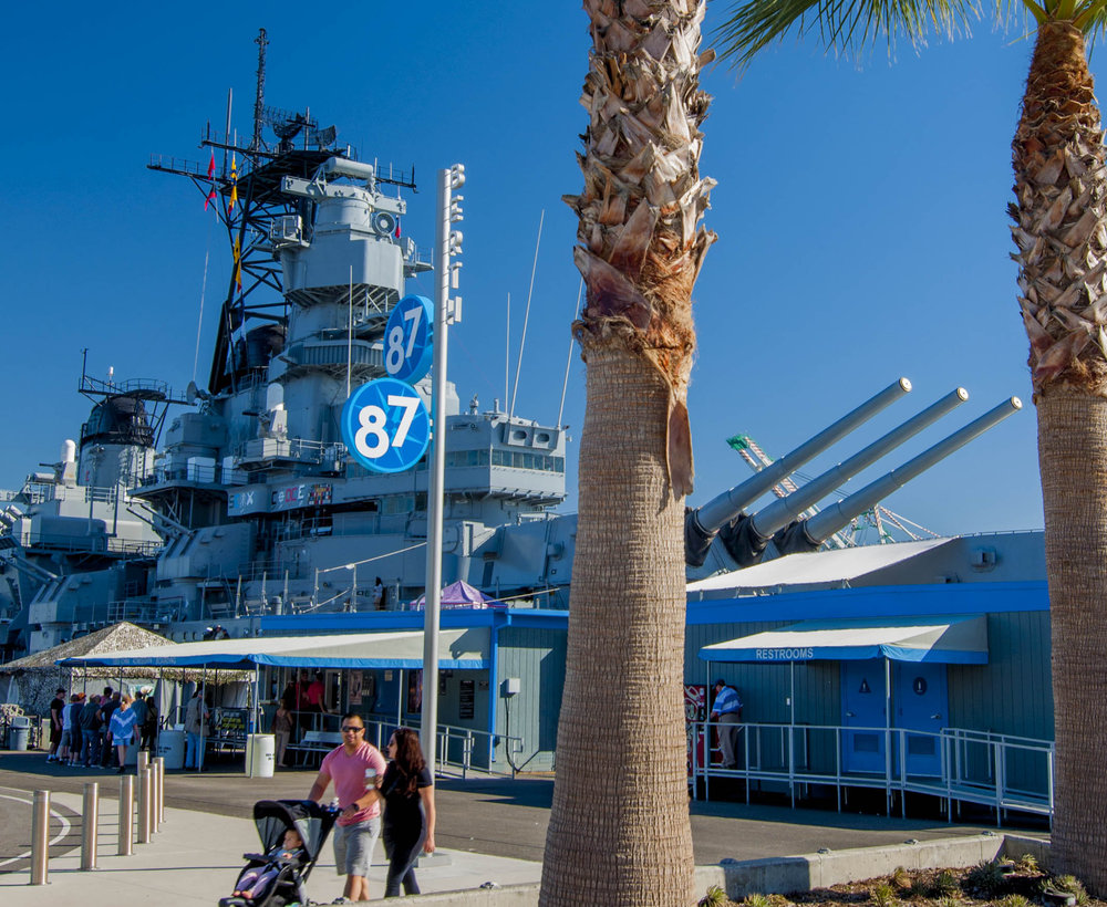 USS Battleship Iowa