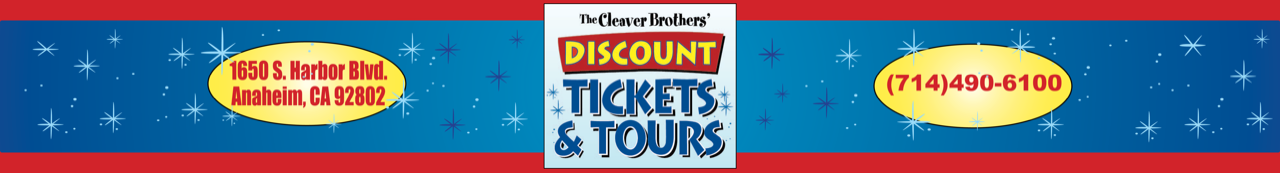 Discount Tickets -Tours