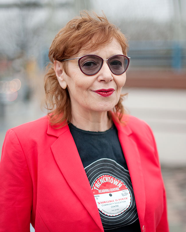 Vivien Goldman, writer and professor of punk