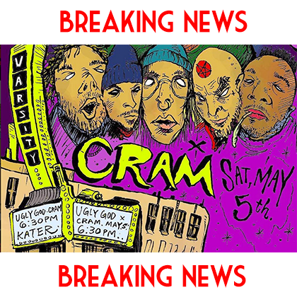 CRAM BREAKING NEWS 4/1/2018