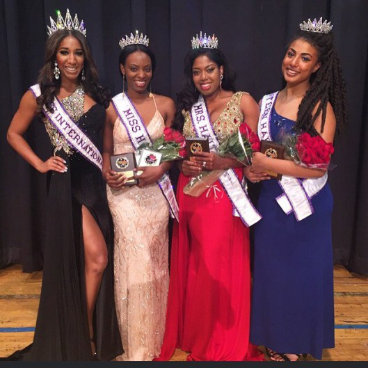 The winners of Haiti International Pageants 2016 with Miss International 2015, Elise Banks - Photo: Mrs, Miss and Miss Teen International Pageants