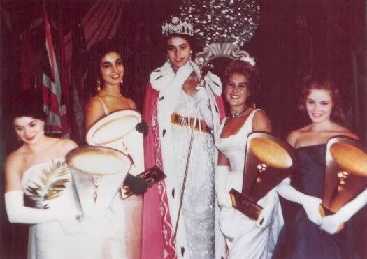 Tòp 5 Miss Entènasyonal 1960