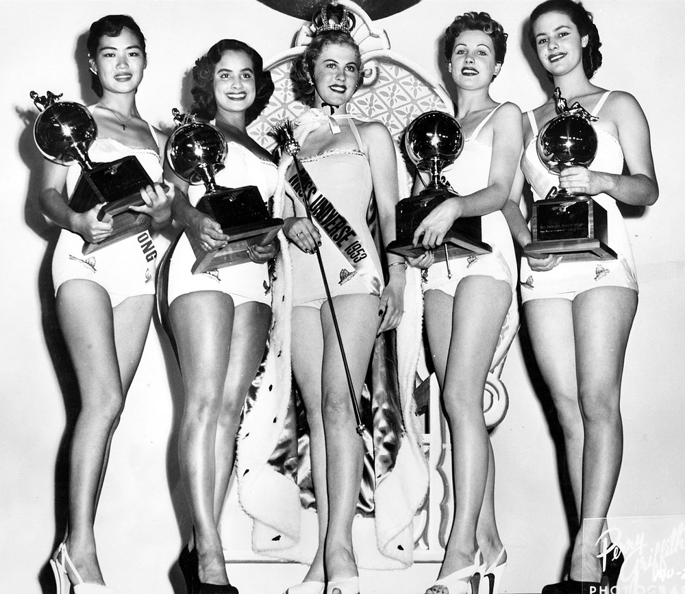 Top 5 Miss Universe 1952