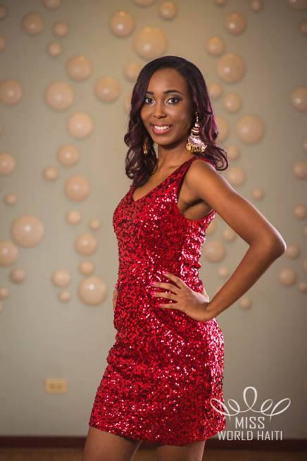 Marie Viannye Menard Miss Haiti International 2015 Photo: Hugue Robert Marsan MUA: Christelle Sanon et Francisco