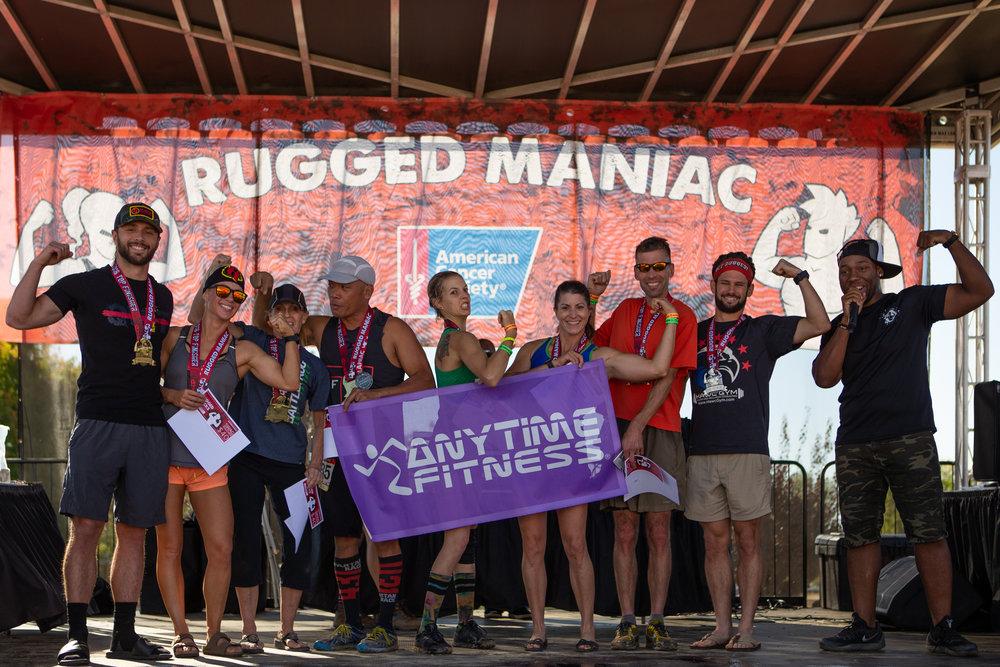Rugged Maniac - Sacramento, California 10/20/2018