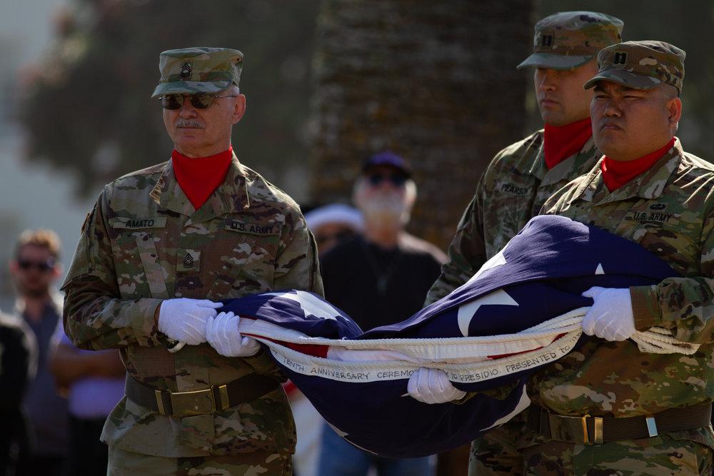 Presidio Memorial Day Commemorations - San Francisco, California 05/28/2018