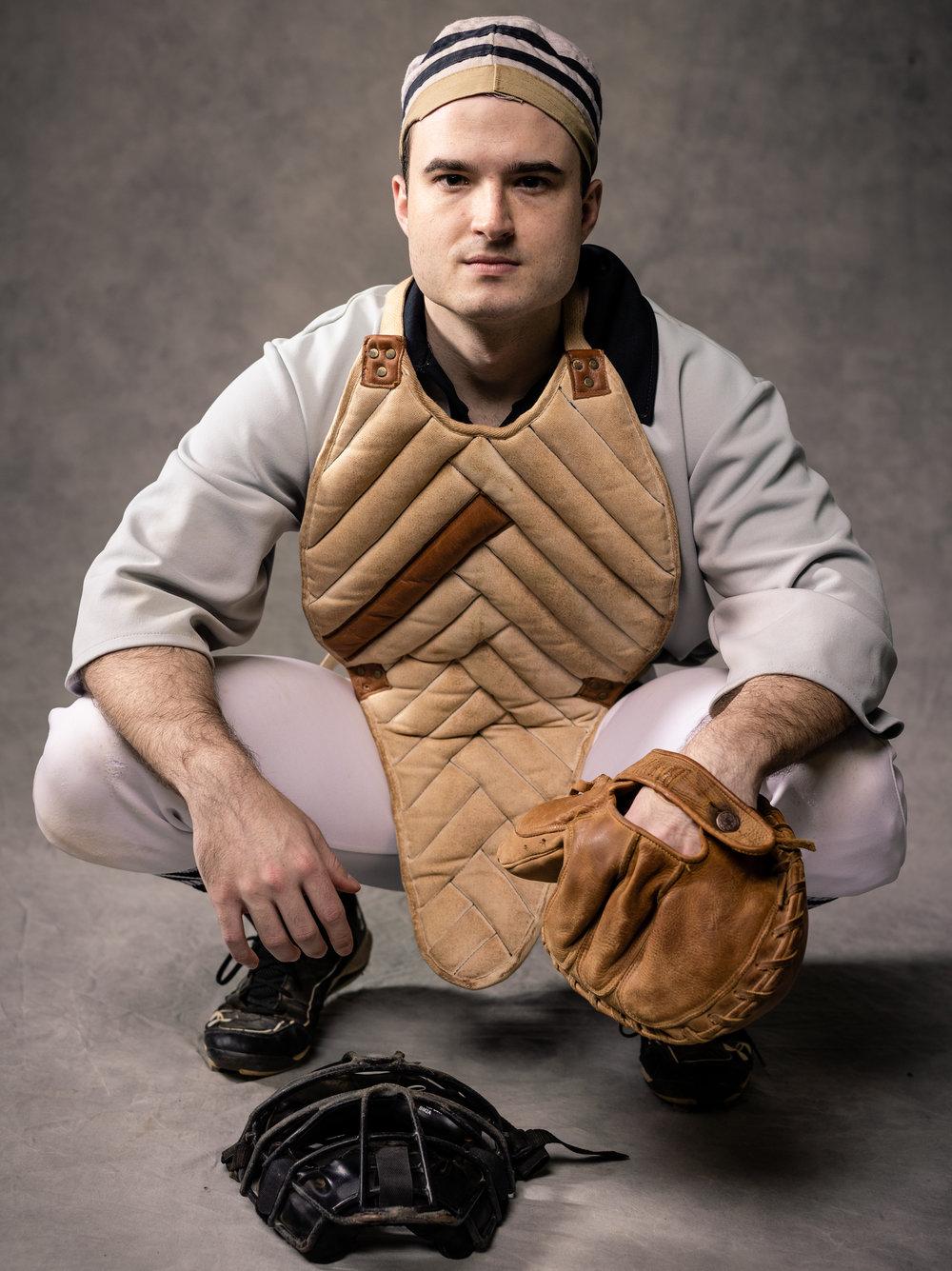 Bay Area Vintage Baseball Medium Format Portraits