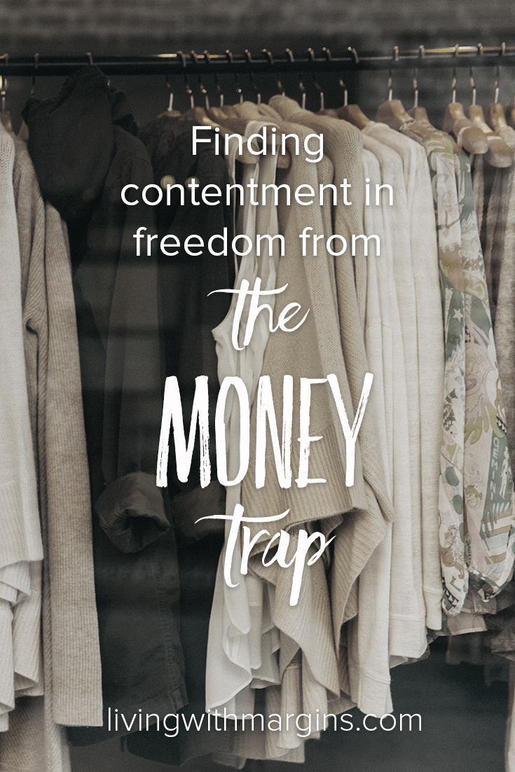When we look for purpose and fulfilment in money we will always be disappointed. Don't be sucked in to the money trap! #finance #materialism #consumerism #debt #livingwithless