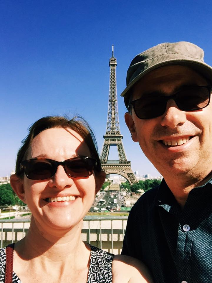 Our Wedding Anniversary in Paris